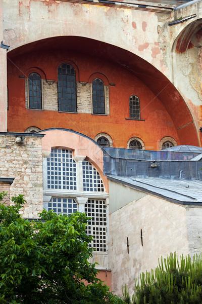 Hagia Sophia Byzantine Architecture Stock photo © rognar