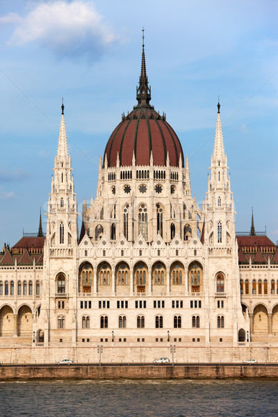 Hungarian Parliament Building in Budapest Stock photo © rognar
