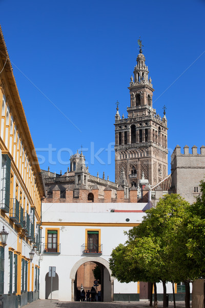Landmarks of Seville Stock photo © rognar