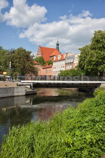 City of Bydgoszcz River View Stock photo © rognar