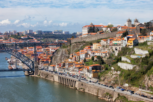 Porto Cityscape in Portugal Stock photo © rognar