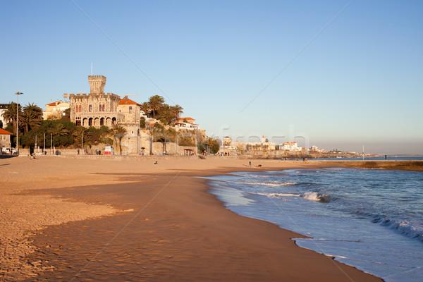 Tamariz Beach in Estoril Stock photo © rognar