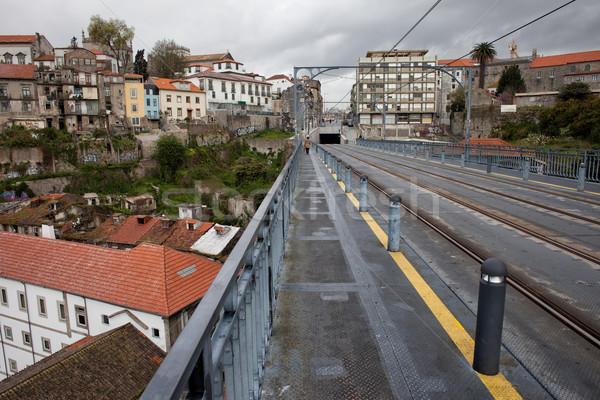 Oporto Cityscape in Portugal Stock photo © rognar
