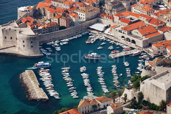 Dubrovnik Marina Stock photo © rognar