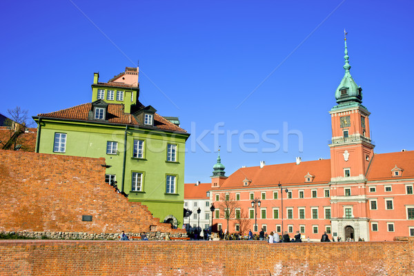 Royal Castle in Old Town of Warsaw Stock photo © rognar