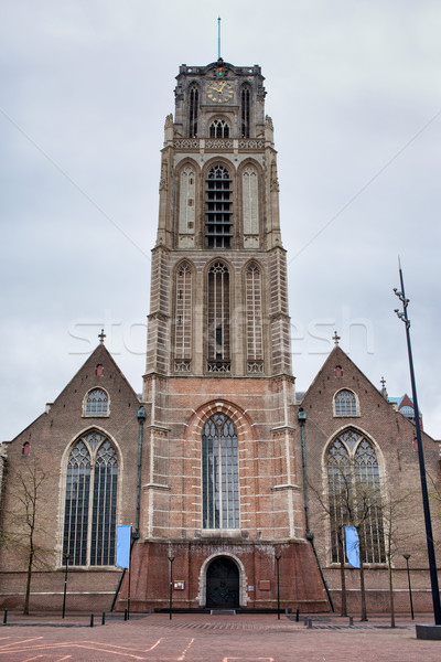 Church of St Lawrence in Rotterdam Stock photo © rognar