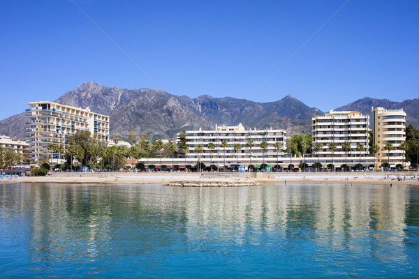 Resort City of Marbella in Spain Stock photo © rognar