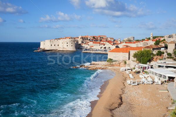 Дубровник декораций старые город морем Хорватия Сток-фото © rognar