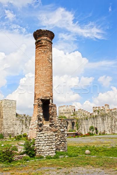 Ruins of Mosque Stock photo © rognar