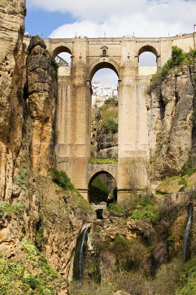 Bridge in Ronda Stock photo © rognar