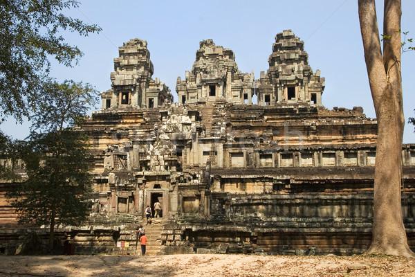 Stock fotó: Templom · soha · befejezett · új · homokkő · Kambodzsa