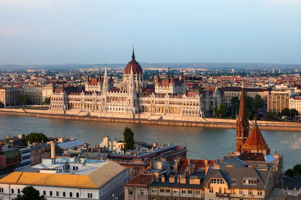 City of Budapest Cityscape Stock photo © rognar