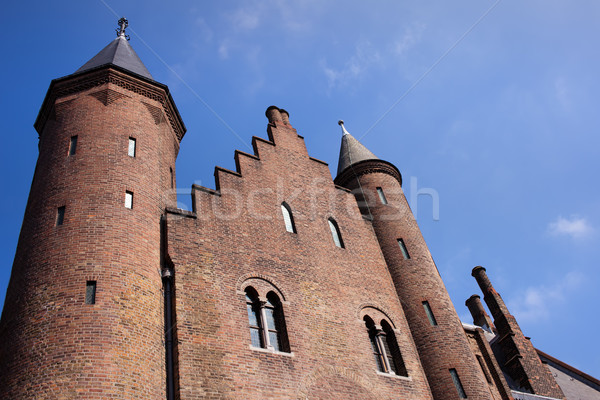 Ridderzaal of the Binnenhof in The Hague Stock photo © rognar