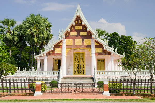 Buddhist Temple in Thailand Stock photo © rognar