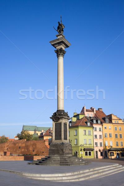 王 列 ワルシャワ 旧市街 ポーランド 建物 ストックフォト © rognar