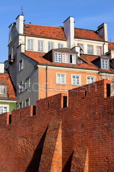 Old Town in Warsaw Stock photo © rognar