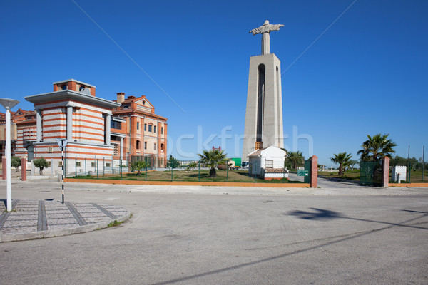 Christ the King Monument in Portugal Stock photo © rognar