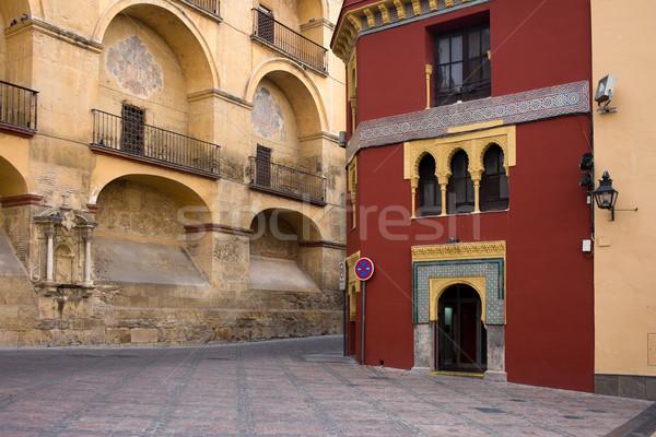 Plaza del Triunfo in Cordoba Stock photo © rognar