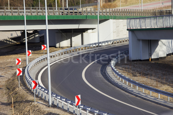 Street Curve Stock photo © rognar