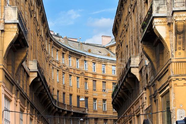 Сток-фото: Будапешт · форма · исторический · жилой · архитектура