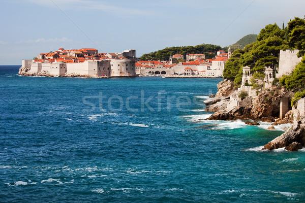 Dubrovnik on the Adriatic Sea Stock photo © rognar