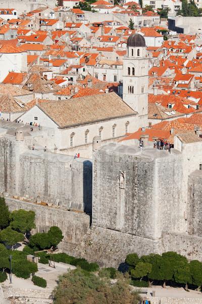ドゥブロブニク 古い 市 歴史的な建物 クロアチア 南 ストックフォト © rognar