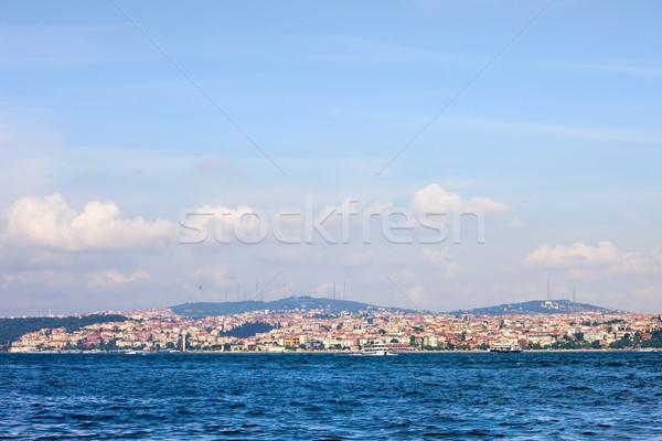 Istanbul Asian Side Skyline Stock photo © rognar