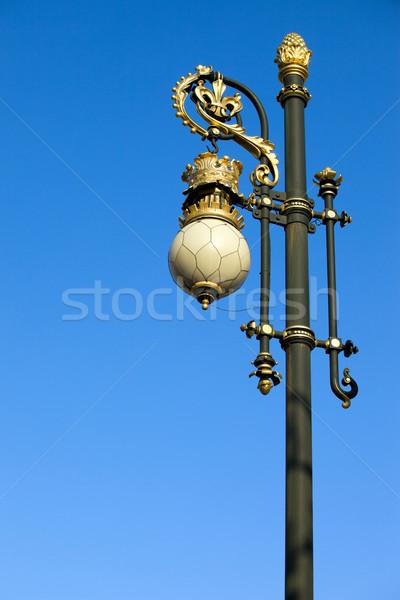 Ornate Street Lamp Stock photo © rognar