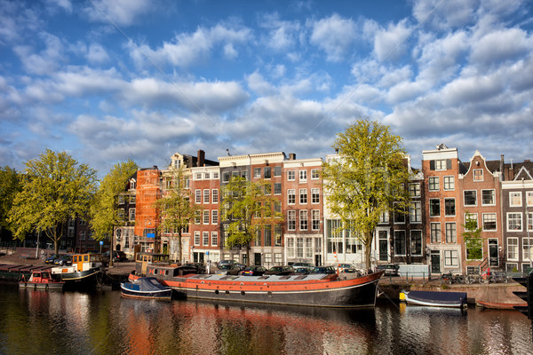 City of Amsterdam in Netherlands Stock photo © rognar