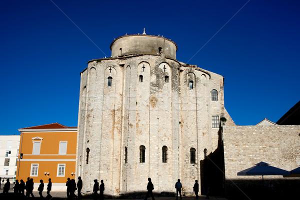 St. Donatus Church in Zadar Stock photo © rognar