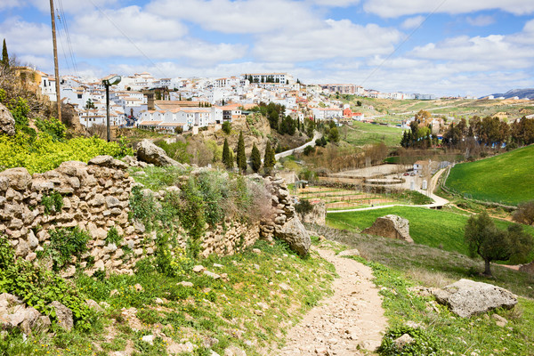Andalusia Countryside in Spain Stock photo © rognar