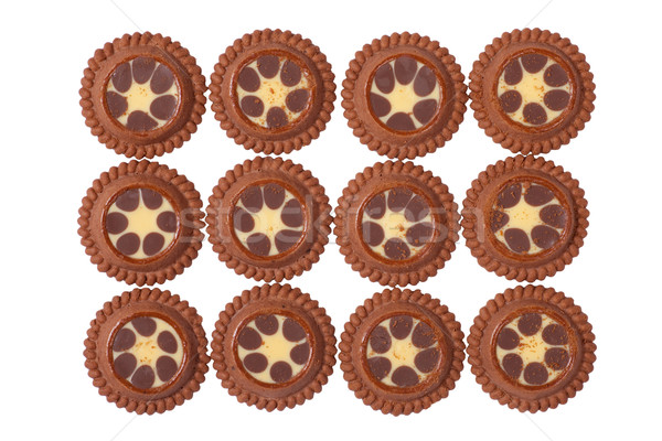 Dozen of Delicious Cookies Stock photo © rognar