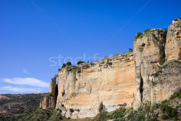 Ronda Rock in Spain Stock photo © rognar