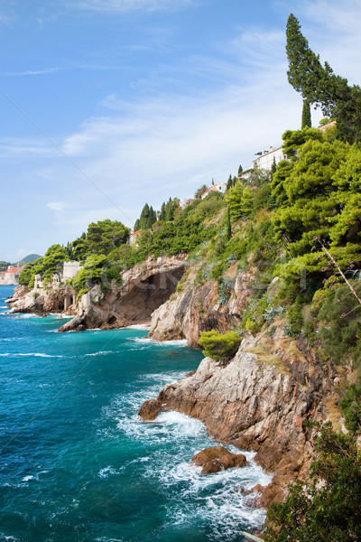 Adriatic Sea Coastline Stock photo © rognar