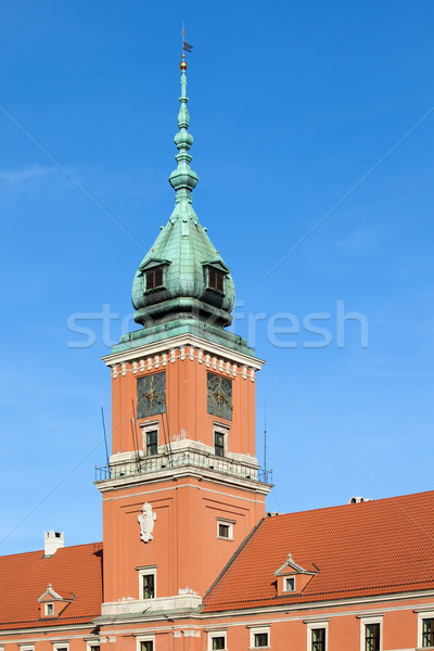 Photo stock: Royal · château · tour · Varsovie · principale · vieille · ville