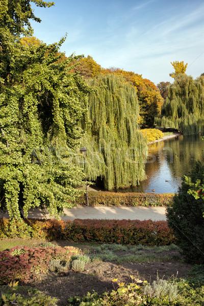 The Saxon Garden in Warsaw Stock photo © rognar