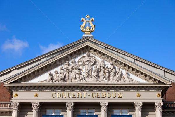 Amsterdam Concertgebouw Architectural Details Stock photo © rognar