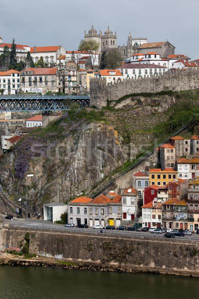 Foto stock: Ciudad · Portugal · urbanas · paisaje · edificios · río