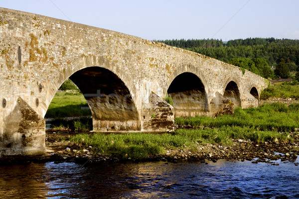 Irlanda pitoresco cenário velho ponte Foto stock © rognar