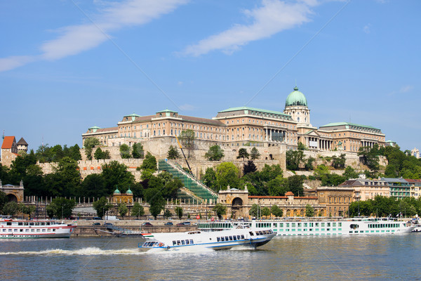 Buda Castle in Budapest Stock photo © rognar