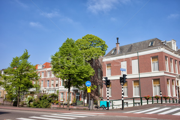 Houses in Den Haag Stock photo © rognar