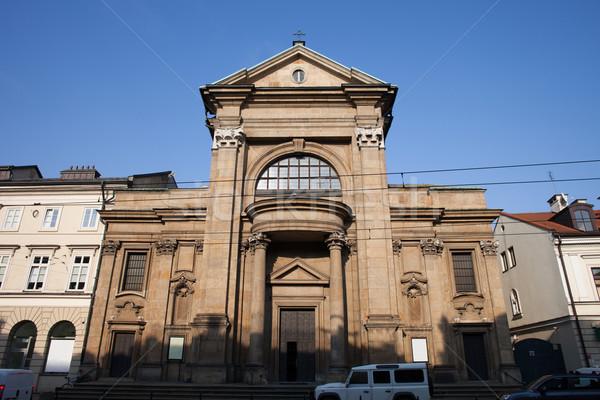 Saint Paul Conversion Church in Krakow Stock photo © rognar