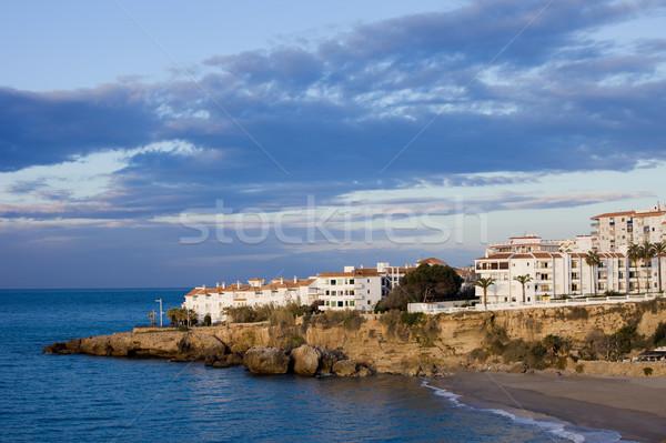 Nerja Town in Spain on Costa del Sol Stock photo © rognar
