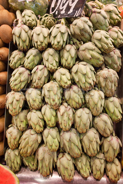 Artichokes Stall Stock photo © rognar