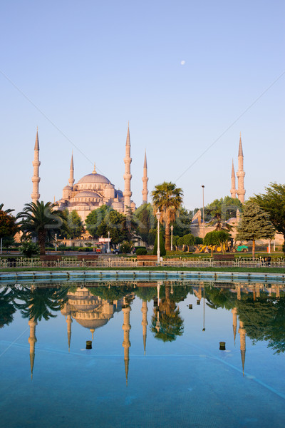 Sultan Ahmet Camii in Istanbul Stock photo © rognar