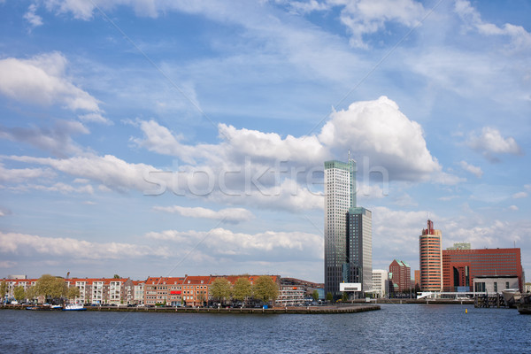 City of Rotterdam in the Netherlands Stock photo © rognar