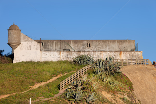 Fort saint fortification architecture Europe structure Photo stock © rognar