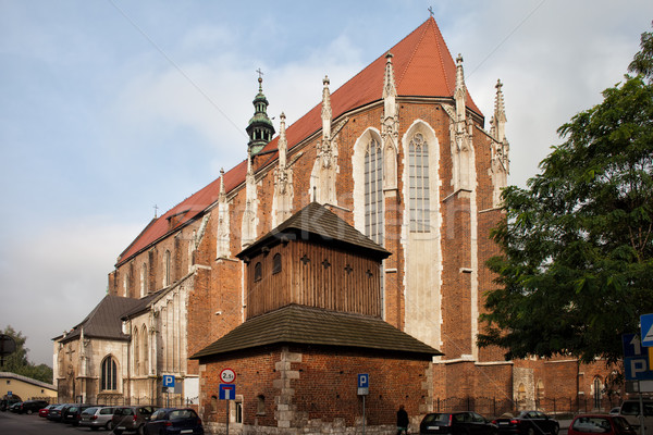 Gothic Church of St. Catherine in Krakow Stock photo © rognar