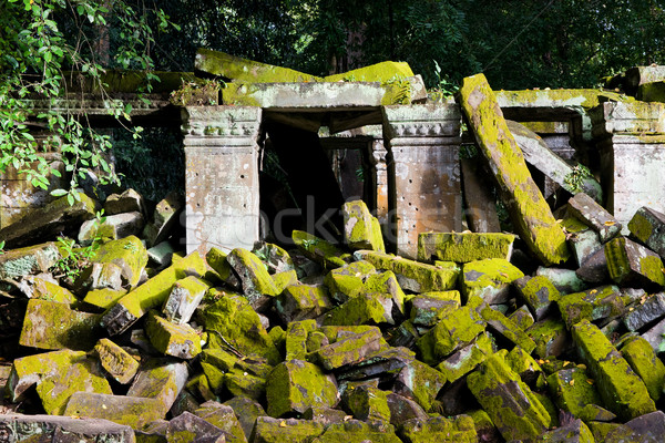 Ancient Temple Ruins Stock photo © rognar
