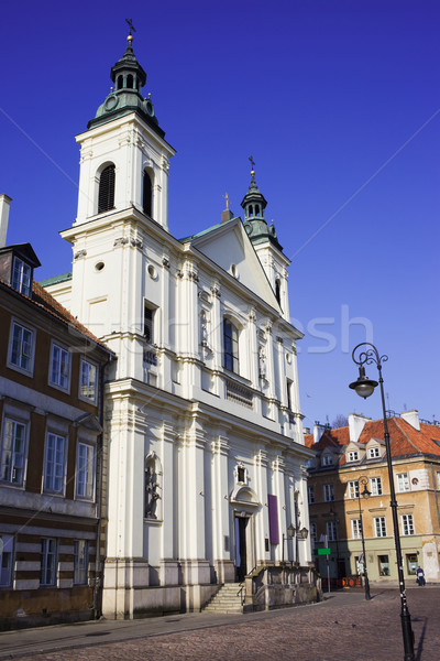 Church of the Holy Spirit in Warsaw Stock photo © rognar